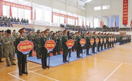 Vận động viên đến từ 22 đầu mối đơn vị tham gia hội thao.