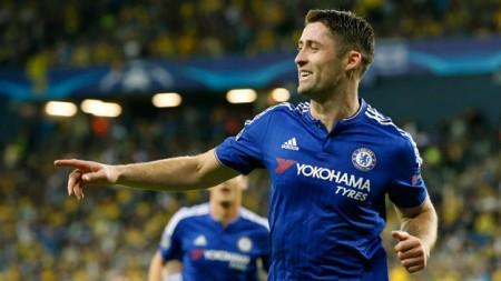 Gary Cahill trong màu áo Chelsea - Ảnh: Reuters