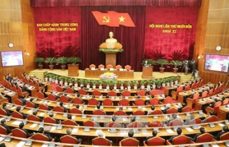 Hội nghị lần thứ 14 Ban Chấp hành Trung ương Đảng khóa XI đã bế mạc chiều 13-1.