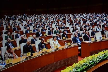 Các vị đại biểu tại Lễ kỷ niệm.