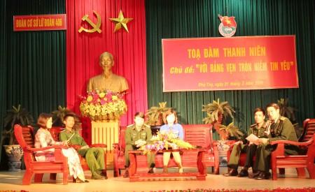 Các đại biểu tham gia buổi tọa đàm.