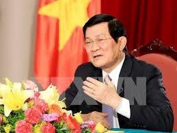 Quốc hội đồng ý miễn nhiệm chức vụ Chủ tịch nước với đồng chí Trương Tấn Sang. Ảnh: TTXVN.