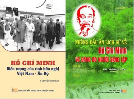 Bìa hai cuốn sách (Ảnh: infonet.vn)