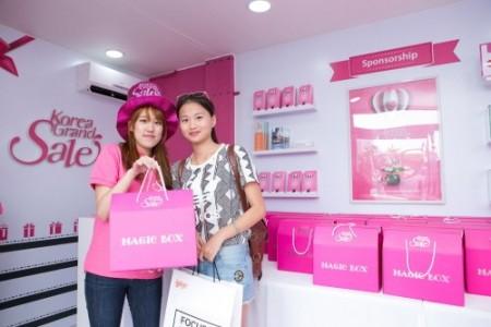 Du khách tham gia Korea Grand Sale tại Hàn Quốc. Ảnh:visitkorea.