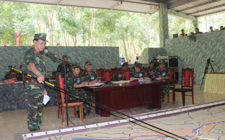 Bộ CHQS tỉnh Vĩnh Phúc thông qua Quyết tâm đánh địch đổ bộ đường không và bạo loạn vũ trang.