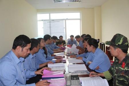 Báo Vĩnh Phúc triển khai nhiệm vụ trong tác chiến phòng thủ.