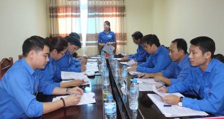 Hội nghị triển khai nhiệm vụ trong tác chiến phòng thủ của Tỉnh Đoàn Vĩnh Phúc.