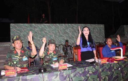 Đảng ủy Quân sự tỉnh Vĩnh Phúc thông qua Quyết tâm tác chiến phòng thủ của Chỉ huy trưởng Bộ CHQS tỉnh