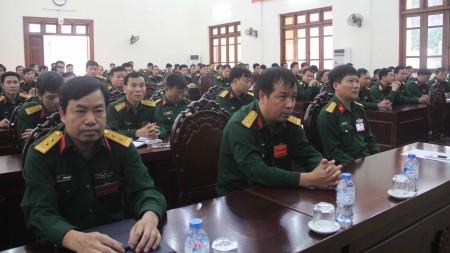 Các đại biểu tham dự Lễ khai mạc Hội thi.