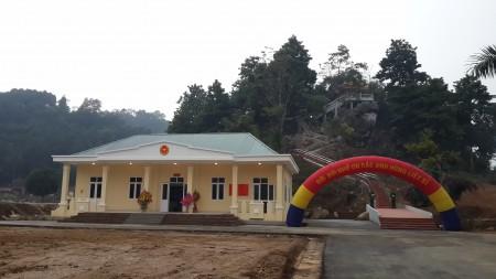 Công trình nhà truyền thống và nhà bia tưởng niệm ghi danh các Anh hùng liệt sĩ BĐBP Hà Giang.
