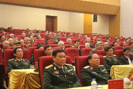 Các đại biểu tham dự buổi gặp mặt.