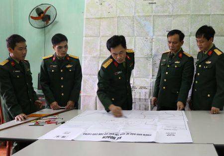 Triển khai kế hoạch cơ động lực lượng trong chuyển trạng thái SSCĐ.