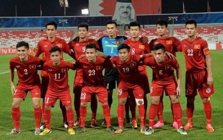 Đội hình đội tuyển U20 Việt Nam. Ảnh: AFC.
