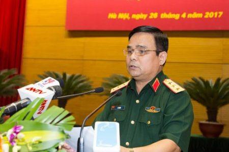 Thượng tướng Lê Chiêm phát biểu bế mạc (Ảnh: Trọng Hải)