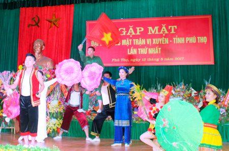 Ra mắt Ban liên lạc CCB mặt trận Vị Xuyên, tỉnh Phú Thọ.